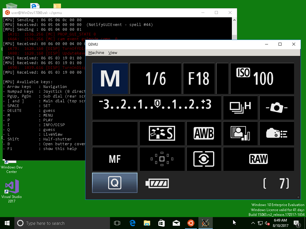 Compiling Magic Lantern on Windows 10 (using its Linux subsystem)